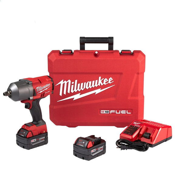 "Milwaukee 2767-22 M18 FUEL High Torque ½"" Impact Wrench with Friction Ring Kit"