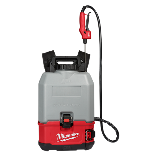 Milwaukee 2820-21CS M18™ SWITCH TANK™ 4-Gallon Backpack Concrete Sprayer Kit
