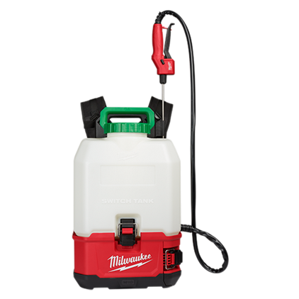 Milwaukee 2820-21PS M18™ SWITCH TANK™ 4-Gallon Backpack Sprayer Kit
