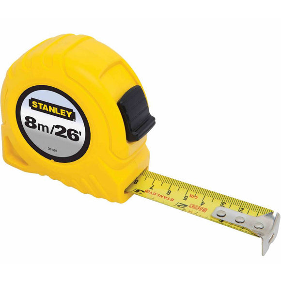 Stanley 30-456 8M/26 FT TAPE MEASURE