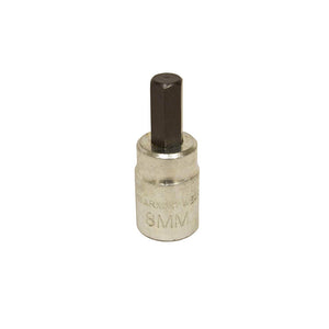 "Lisle Corporation 33910 8MM HEX BIT 3/8"" DR"