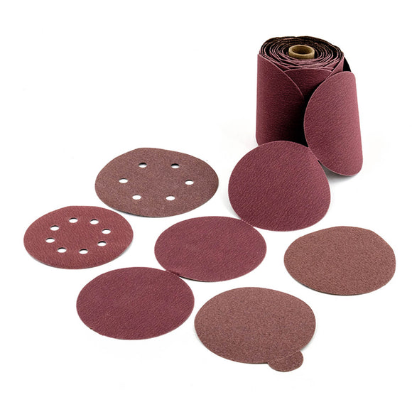 United Abrasives 36560 3S STEARATED ALUMINUM OXIDE Hook & Loop (8 holes) DIA 5