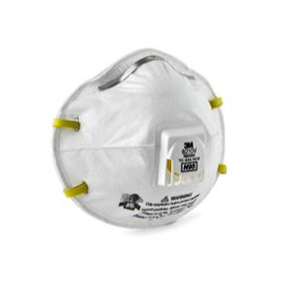 ERB Industries 13530 3M8210-N95 Disposable Particulate Respirator APF10 (20/BX)