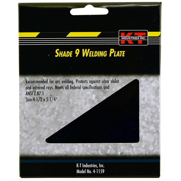 K-T Industries 4-1159 Welding Helmet Filter Plate Shade