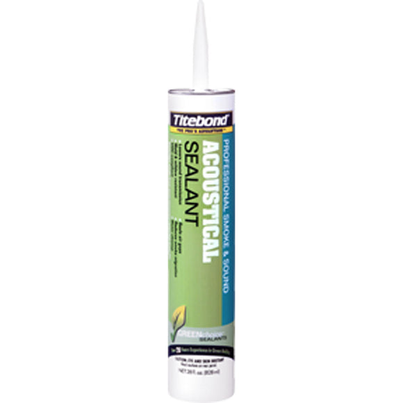 Titebond 2892 Greenchoice Acoustical Smoke & Sound Sealant 28 Oz. Cartridge