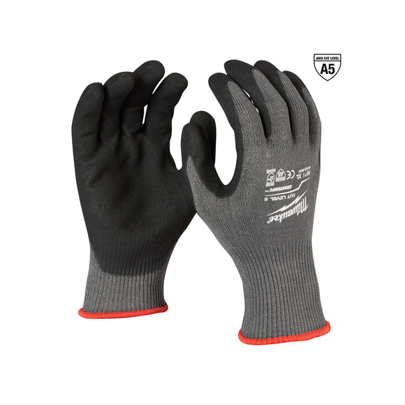 Milwaukee Nitrile Dipped Gloves (Multiple Cut Levels and Sizes Available)