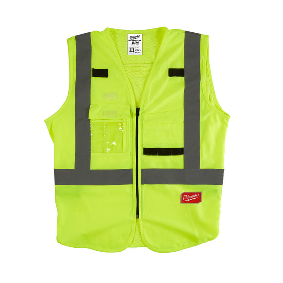 Milwaukee High Visibility Safety Vests (Multiple Sizes Available S - XXXL)