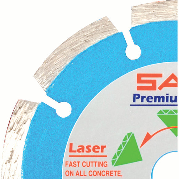 United Abrasives 48531 SEGMENTED RIM DIAMOND BLADE LU Premium