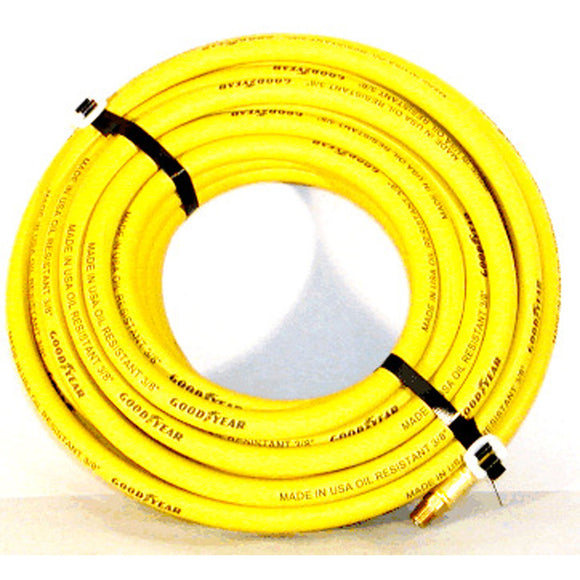 Goodyear 01-1386 3/8 X 50' Yellow Air Hose MXM