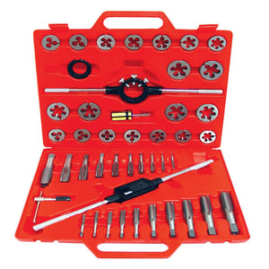 Grip-on 53300 45 Pc Tungsten Tap & Die Set SAE – 2/1