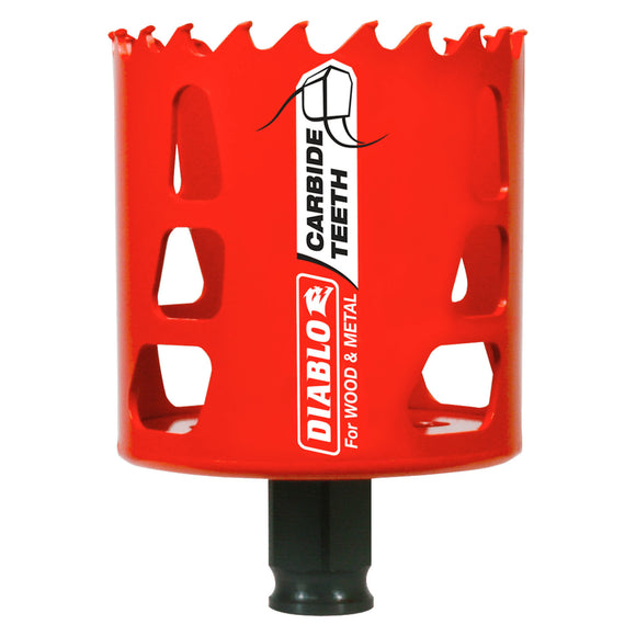 Diablo Carbide-Tipped Wood & Metal Holesaw (Multiple Sizes Available)