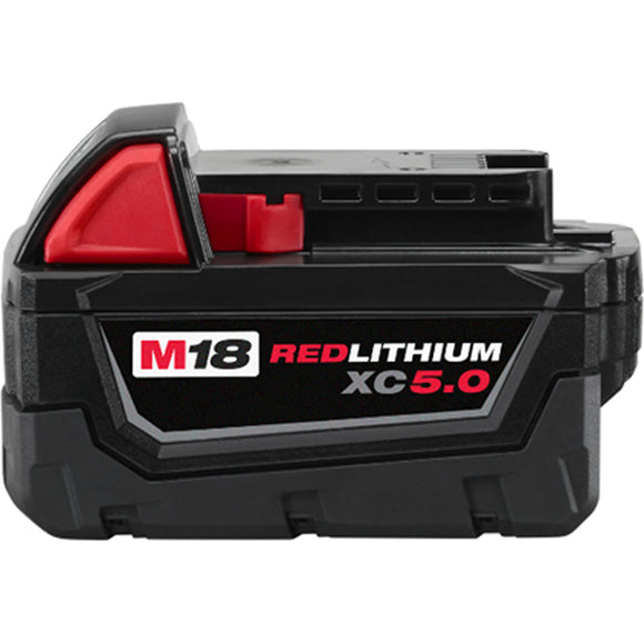 Milwaukee 48-11-1850 M18™ REDLITHIUM™ XC5.0 Extended Capacity Battery Pack