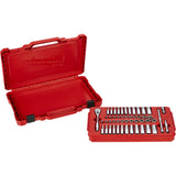 "Milwaukee 48-22-9004 1/4"" Drive 50pc Ratchet & Socket Set - SAE & Metric"