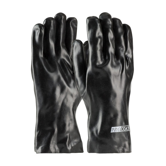 PIP 58-8030 PVC Dipped Glove With Interlock Liner and Smooth Finish - 12