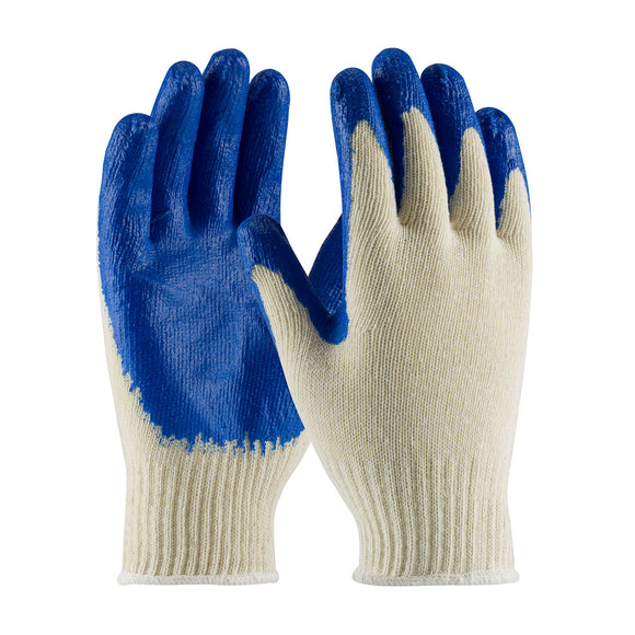 PIP 39-C122/XL X-Large Latex Smooth Grip On Blue Gloves