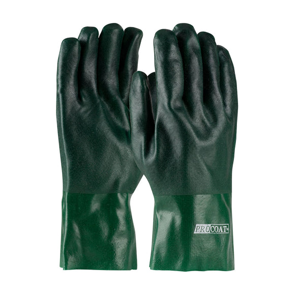 PIP 58-8025DD PVC Dipped Glove with Jersey Liner and Rough Acid Finish - 12