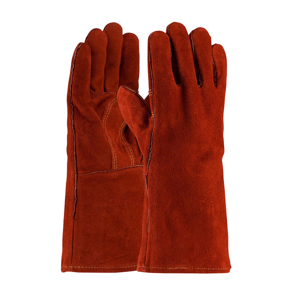 PIP 73-7015 Shoulder Split Cowhide Leather Welder's Glove with Cotton Liner and Kevlar Stitching