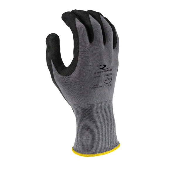 Radians RWG13 Foam Nitrile Gripper Glove (Multiple Sizes Available)