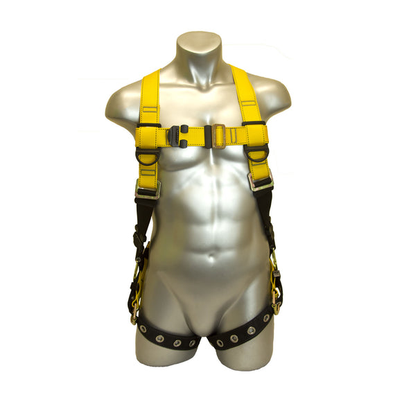 Guardian Fall Protection Series 1 Harness: Pt Chest / TB Legs Side D-ring (M-L , XL-XXL)