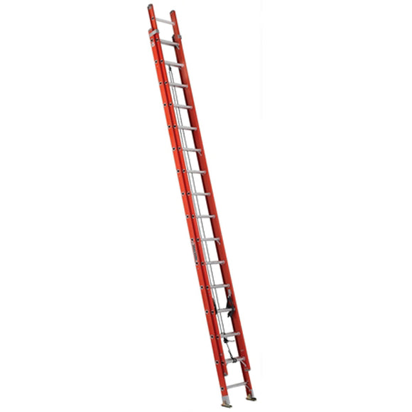 Louisville Ladder FE3232 32 Foot Fiberglass Extension Ladder, Type IA, 300 Pound Load Capacity