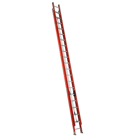 Louisville Ladder FE3240 40 Foot Fiberglass Extension Ladder, Type IA, 300 Pound Load Capacity