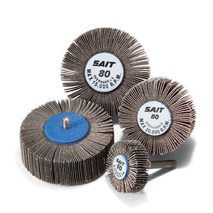 "United Abrasives 70025 2A ALUMINUM OXIDE GENERAL PURPOSE DIA 1-1/2"" Thick 1/2/"" Mandrel Size 1/4"""