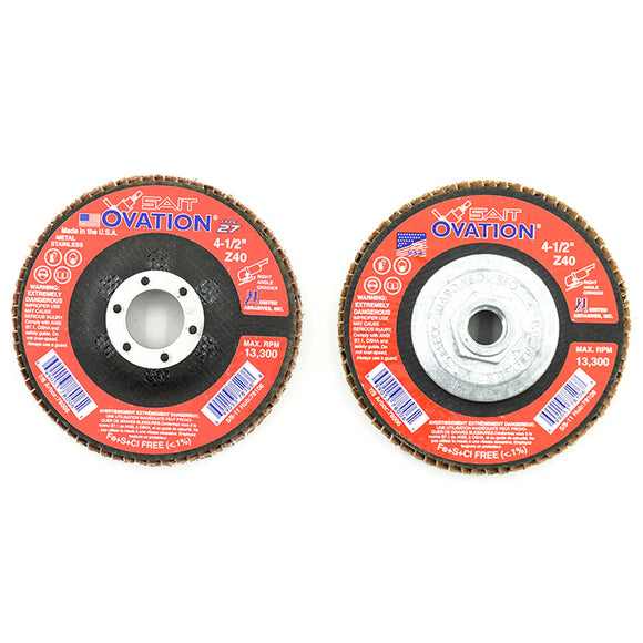 United Abrasives 78006 OVATION TYPE 27 7/8 Arbor - No Hub