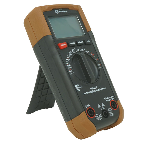 Southwire 10041N 65031240 Auto-Ranging Digital Multimeter, 600V AC/DC