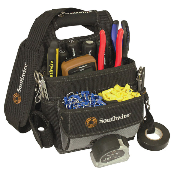 Southwire BAGESP 58738740 Electrician's Shoulder Pouch