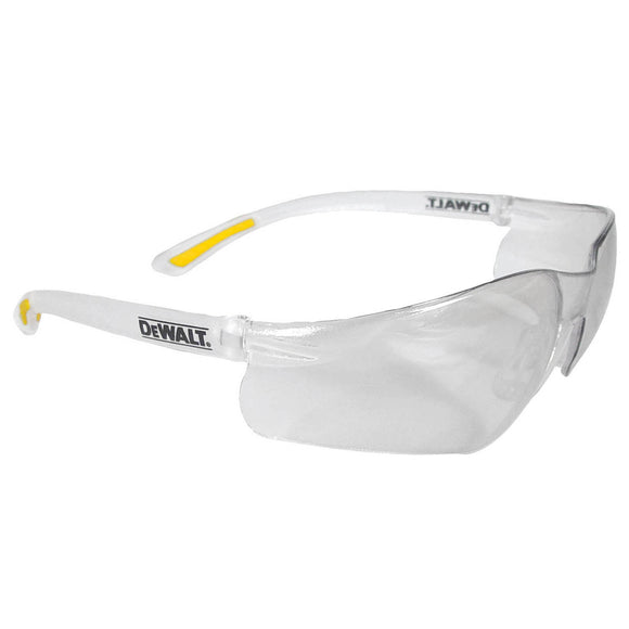 Radians DPG52-ID SAFETY GLASSES CLEAR CONTRACTOR DEWALT