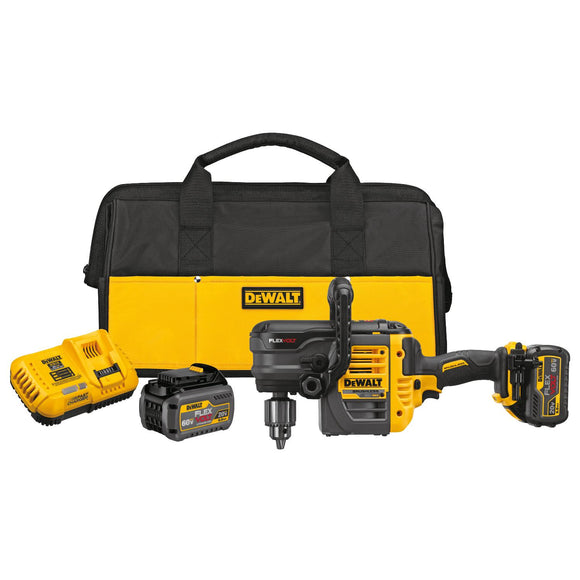 Dewalt DCD460T2 Flexvolt 60V Max VSR Stud and Joist Drill Kit with E-Clutch System 2 Battery Kit