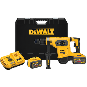 "DeWalt DCH481X2 Flexvolt® 60V Max* 1-9/16"" Sds Max Combination Hammer Kit"