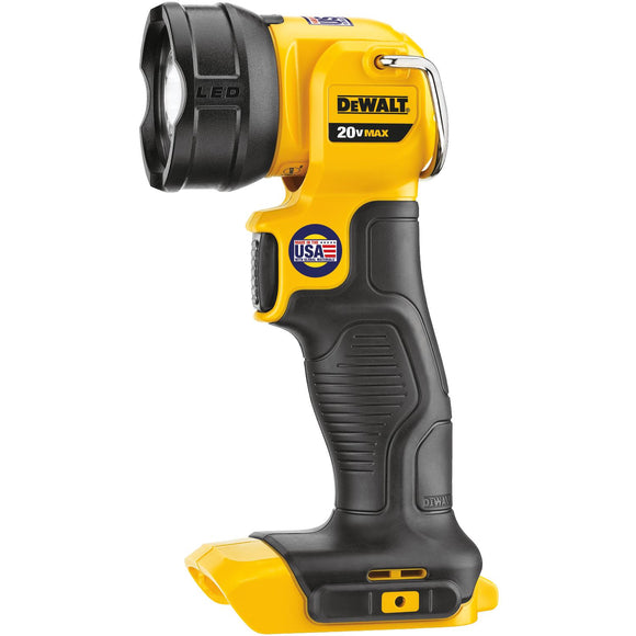 Dewalt DCL040 Cordless Rechargeable Work Light, 20 V, Xenon