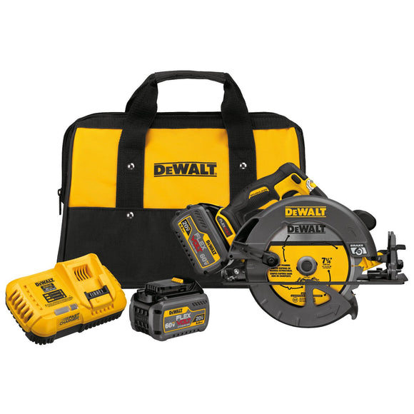 Dewalt DCS575T2 Cordless Circular Saw With Brake Kit