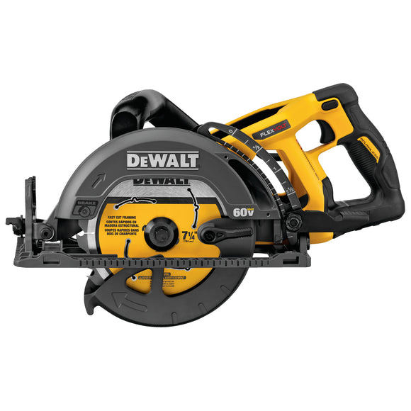 DEWALT PROMO-DCS577B FLEXVOLT® 60V MAX* 7-1/4 IN. CORDLESS WORM DRIVE STYLE SAW (TOOL ONLY)