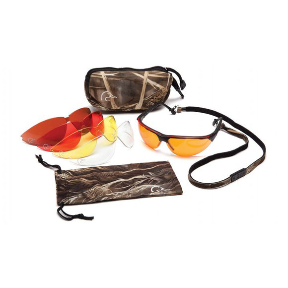 Ducks Unlimited DUCAB Shooting Glasses with Interchangeable Lenses