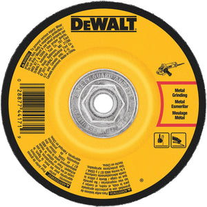DeWalt DW4626 Hp Metal Grinding Wheels Type 27