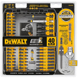 DeWalt DWA2T40IR 40-Pc. Impact Ready® Screwdriving Set