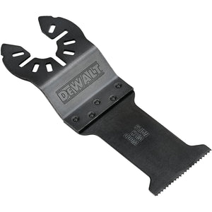 Dewalt DWA4203 Oscillating Cutting Blade, 1-1/4 In 1-3/4 In L, Steel, Black