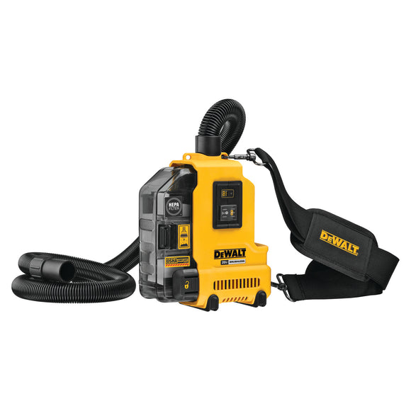 DeWalt DWH161B 20V MAX* BRUSHLESS UNIVERSAL DUST EXTRACTOR (Bare Tool)