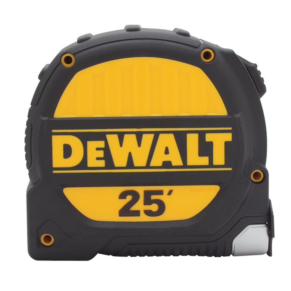DeWalt DWHT33975 Measuring Tape, 25 Ft L X 1-1/4 In W, Steel
