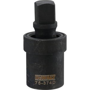 Dewalt DWMT75374OSP Universal Joint, 3/4 In Male, 3/4 In Female, Chrome-Vanadium Steel