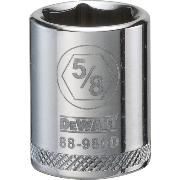 Dewalt DWMT88980OSP Socket, 3/8 In, 5/8 In, 6 Point