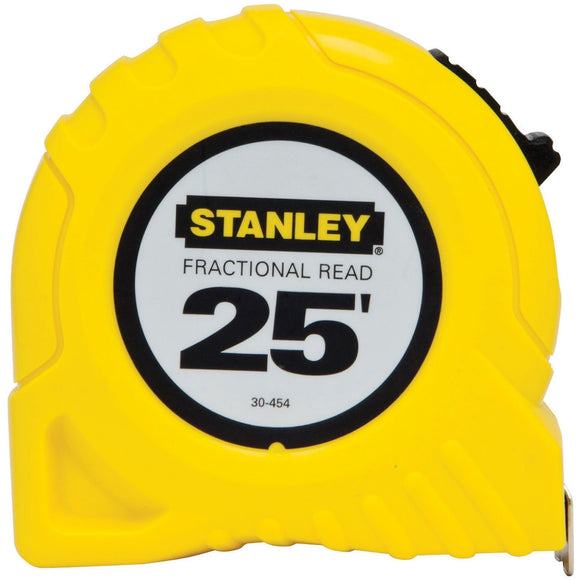 Stanley 30-454PS Measuring Tape, 25 Ft L X 1 In W, Steel