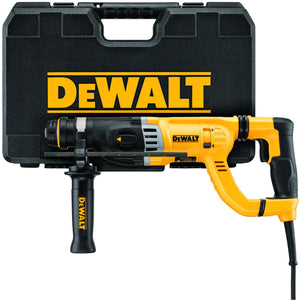 "DeWalt D25263K 1-1/8"" D-Handle Sds Hammer Kit"