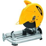 Dewalt D28715 High Performance Chop Saw, 120 V, 15 A, 14 In Dia, 4000 Rpm, 6 Ft