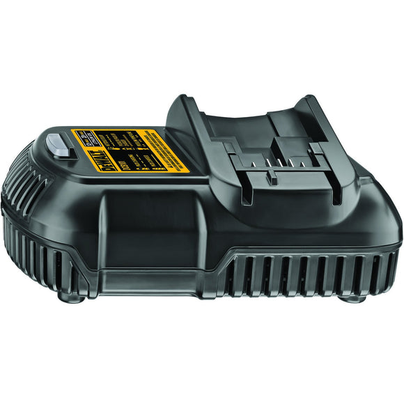 DeWalt DCB115/DCB101 Battery Charger, 12 - 20 V, Lithium-Ion Battery, 1 Hr Charge Time