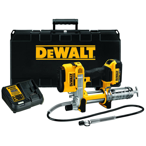 DeWalt DCGG571M1 Ion Grease Gun, 5 Oz, 10000 Psi Lithium-Ion