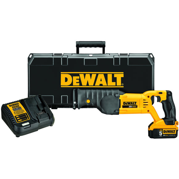 DeWalt DCS380P1 / DCS380M1 20V Max* Cordless Reciprocating Saw Kit