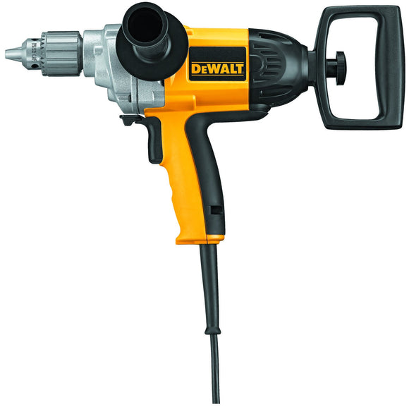 Dewalt DW130V Heavy Duty Corded Drill, 120 V, 9 A, 600 W, 1/2 In Keyed Chuck, 0 - 550 Rpm